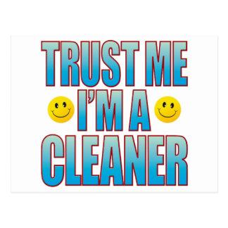 Trust Me Cleaner Life B Postcard