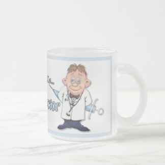 Trust Me Doc Frosted Glass Mug
