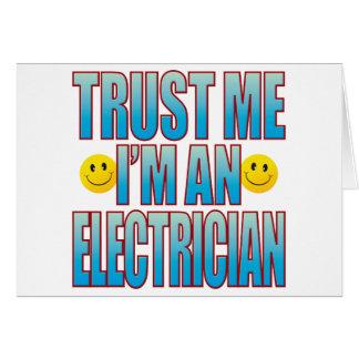 Trust Me Electrician Life B Card