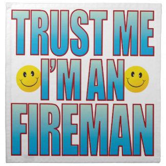 Trust Me Fireman Life B Napkin