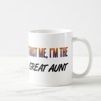 Trust Me Great Aunt Basic White Mug