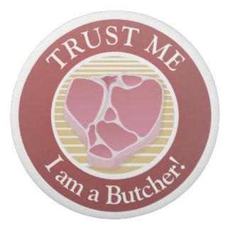 Trust me, I am a Butcher T-bone Eraser