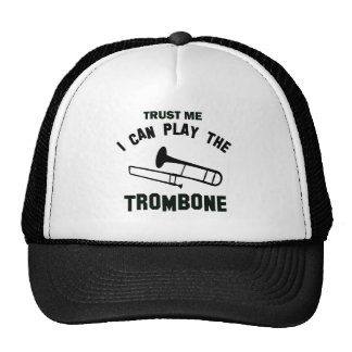 Trust me I can play the TROMBONE Mesh Hat