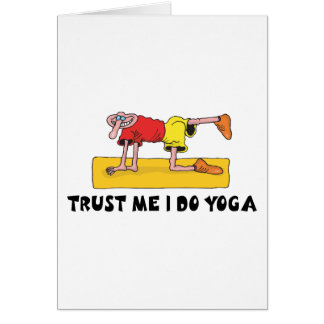 Trust Me I Do Yoga Gift Card
