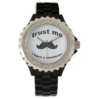 Trust me i have a mustache watch