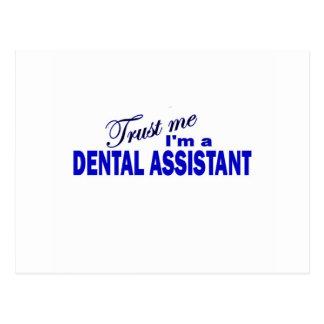 Trust Me I m a Dental Assistant Postcard