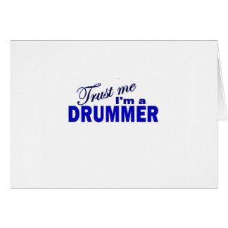 Trust Me I m a Drummer Card