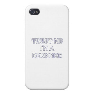 Trust Me I m a Drummer Cases For iPhone 4
