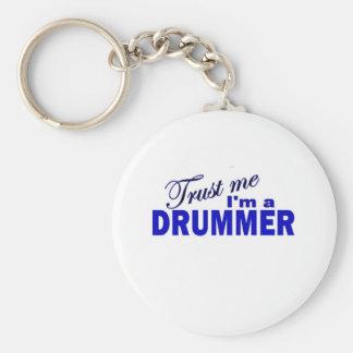 Trust Me I m a Drummer Keychain