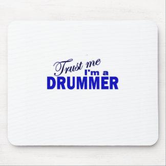 Trust Me I m a Drummer Mousepad