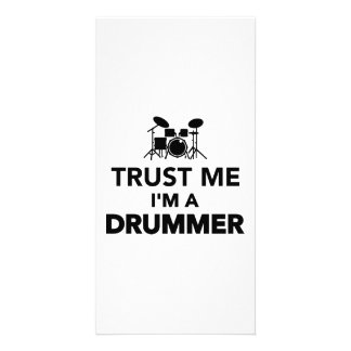 Trust me I m a Drummer Picture Card