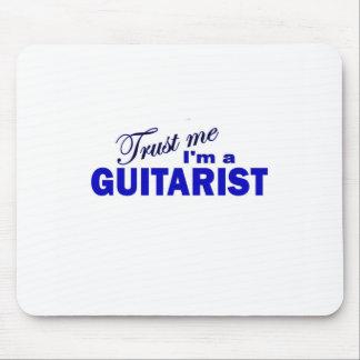 Trust Me I m a Guitarist Mouse Pads