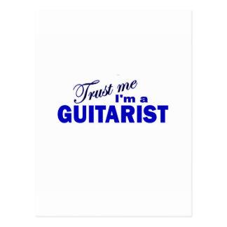Trust Me I m a Guitarist Post Card