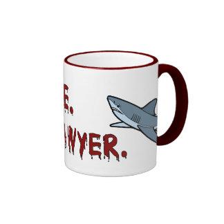 Trust Me I m a Lawyer Shark Mug