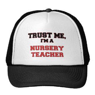 Trust Me I m a My Nursery Teacher Hat