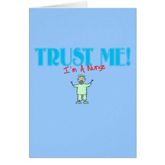 Trust Me I m A Nurse stick RN Cards