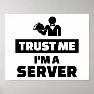 Trust me I'm a server Poster