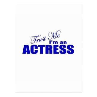 Trust Me I m an Actress Postcards