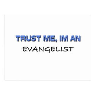 Trust Me I m an Evangelist Postcards