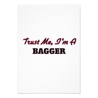 Trust me I'm a Bagger Personalized Invitations