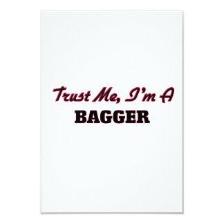 "Trust me I'm a Bagger 3.5"" X 5"" Invitation Card"