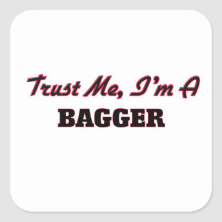 Trust me I'm a Bagger Stickers