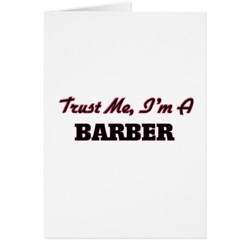 Trust me I'm a Barber Card