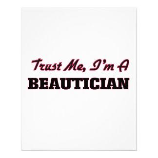 Trust me I'm a Beautician Custom Flyer