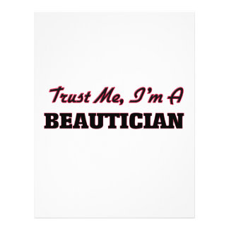 Trust me I'm a Beautician Flyer