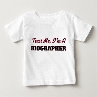 Trust me I'm a Biographer Tee Shirt
