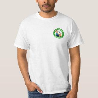 Trust me I'm a biologist simple logo T-shirt