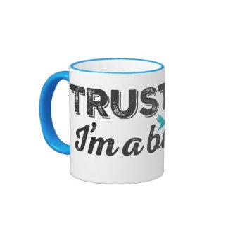 Trust me. I'm a Birder! Ringer Coffee Mug