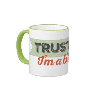 Trust me. I'm a Birder! Ribbon Ringer Mug