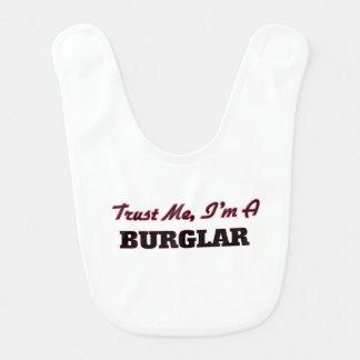 Trust me I'm a Burglar Bib