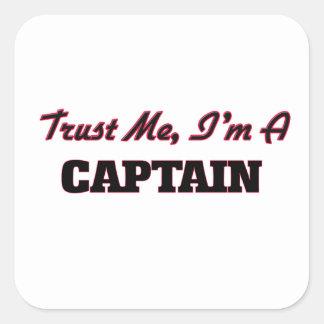 Trust me I'm a Captain Sticker