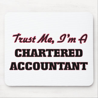 Trust me I'm a Chartered Accountant Mouse Mat