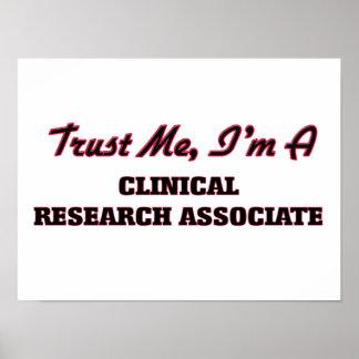 Trust me I'm a Clinical Research Associate Poster