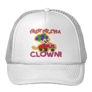Trust Me I'm a Clown T-shirts, Mugs, Buttons Hat