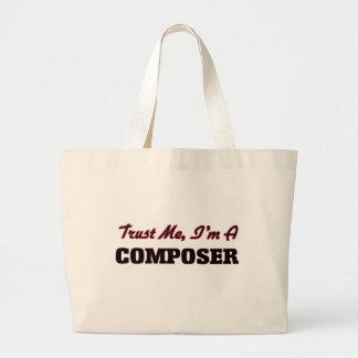 Trust me I'm a Composer Canvas Bags