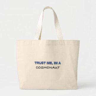 Trust Me I'm a Cosmonaut Canvas Bag