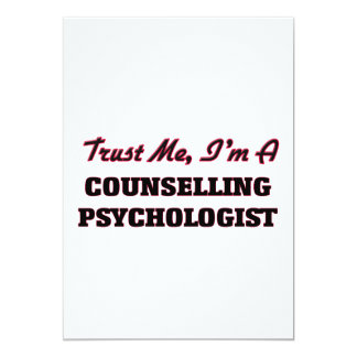 Trust me I'm a Counselling Psychologist Invitation