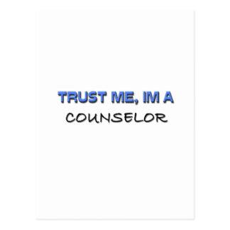 Trust Me I'm a Counselor Postcard