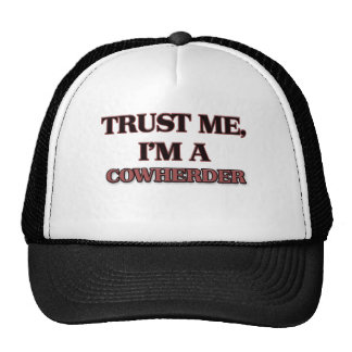 Trust Me I'm A COWHERDER Mesh Hat