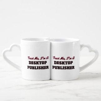 Trust me I'm a Desktop Publisher Lovers Mug Set