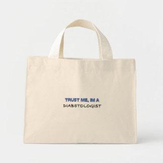 Trust Me I'm a Diabetologist Mini Tote Bag