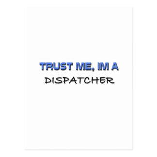 Trust Me I'm a Dispatcher Postcard