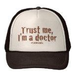 Trust me, I'm a doctor... Cap