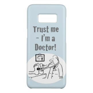 Trust Me - I'm a Doctor! Funny Cartoon Case-Mate Samsung Galaxy S8 Case