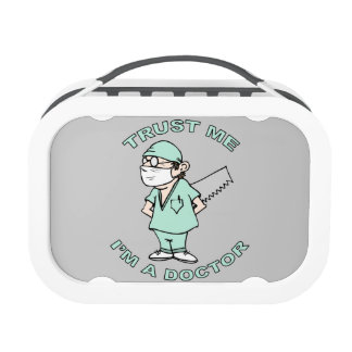 Trust me, I'm a Doctor Lunch Boxes
