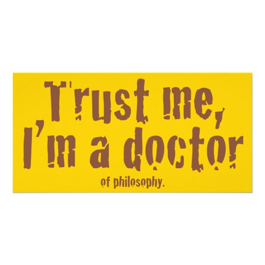 Trust me, I'm a doctor... Photo Cards